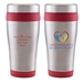 """Caring Is Everything We Do & We Depend On You!"" Legend 16 oz. Stainless Steel Tumbler   - NUR162"