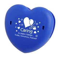 Caring To Make It Better…Today, Tomorrow, Forever! Heart Keep-It (TM) Clip with Magnet  Heart, Snack, Clip, Keep, It, Fresh, Magnet, Heart Health, Ideas, Idea, Caring, Caring Team, Hospital Team,