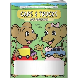 Cars and Trucks Are Awesome! Coloring Book Cars and Trucks Are Awesome! Coloring Book, BetterLifeLine, BetterLife, Education, Educational, information, Informational, Wellness, Guide, Brochure, Paper, Low-cost, Low-Price, Cheap, Instruction, Instructional, Booklet, Small, Reference, Interactive, Learn, Learning, Read, Reading, Health, Well-Being, Living, Awareness, ColoringBook, ActivityBook, Activity, Crayon, Maze, Word, Search, Scramble, Entertain, Educate, Activities, Schools, Lessons, Kid, Child, Children, Story, Storyline, Stories, Imprinted, Personalized, Promotional, with name on it, Giveaway,