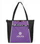 Catalyst Convention Tote Trade Show Tote, Convention Bag, tote with Water Bottle Holder, Pocket, Basic, Low Price, Promotional, Imprinted, with name on it, logo, custom bag, gift bag, mini tote, fashion bag