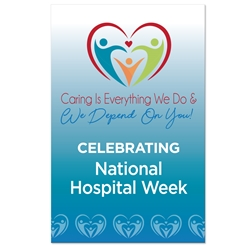 "Celebrating National Hospital Week Theme 11 x 17"" Posters (Sold in Packs of 10)   National Hospital Week, Hospital, Week, Theme, Posters, Poster, Celebration Poster, Appreciation Day, Recognition Theme Poster,"