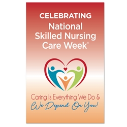 "Celebrating National Skilled Nursing Care Week Theme 11 x 17"" Posters (Sold in Packs of 10)  Nursing Home Week, National Skilled Nursing Care Week, Theme, Posters, Poster, Celebration Poster, Appreciation Day, Recognition Theme Poster,"