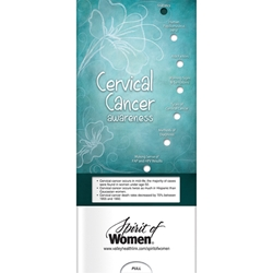 Cervical Cancer Awareness Pocket Slider BetterLifeLine, BetterLife, Education, Educational, information, Informational, Wellness, Guide, Brochure, Paper, Low-cost, Low-Price, Cheap, Instruction, Instructional, Booklet, Small, Reference, Interactive, Learn, Learning, Read, Reading, Health, Well-Being, Living, Awareness, PocketSlider, Slide, Chart, Dial, Bullet Point, Wheel, Pull-Down, SlideGuide, Cancer, Women, Woman, Female, Fitness, Gynecology, OB/GYN, Exercise, Fitness, Healthy, Eating, Nutrition, Diet, Check-Up, Body, Fat, Muscles, Lean, Heart, Doctor, Cancer, The Positive Line, Positive Promotions