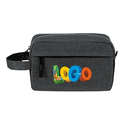Classic Amenities Kit Bag  Amenities, Toiletry, Zipper, Zippered, Travel, Pack, Waist, Bag, Kit, Promotional, Events, All Purpose, Imprinted, Reusable, Custom, Personalized, Sport, Pack