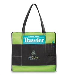 Concept Non-Woven Convention Tote  Promotional, Imprinted, Laminated, Totes, Vita, Shoppers, Supermarket, Tote, Shoulder Strap,