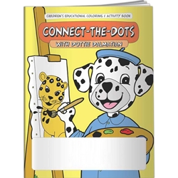 Connect-the-Dots with Dottie Dalmatian Coloring Book Connect-the-Dots with Dottie Dalmatian Coloring Book, BetterLifeLine, BetterLife, Education, Educational, information, Informational, Wellness, Guide, Brochure, Paper, Low-cost, Low-Price, Cheap, Instruction, Instructional, Booklet, Small, Reference, Interactive, Learn, Learning, Read, Reading, Health, Well-Being, Living, Awareness, ColoringBook, ActivityBook, Activity, Crayon, Maze, Word, Search, Scramble, Entertain, Educate, Activities, Schools, Lessons, Kid, Child, Children, Story, Storyline, Stories, Imprinted, Personalized, Promotional, with name on it, Giveaway,