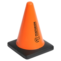 Construction Cone Stress Reliever safety promotional items, national safety month gifts, workplace safety awareness, safety incentives, safety reminders, safety awards, safety gifts