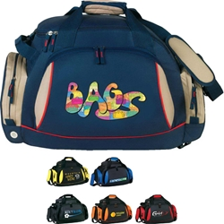 Convertible Sport Pack/Bag Convertible, Sport, Pack, Deluxe, Duffle, Promotional, Imprinted, Polyester, Travel, Custom, Personalized, Bag