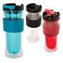 Cool Gear (TM) Mason Coffee Tumbler Coffee Tumbler, Coffee Travel Tumbler, Travel beverage holder, travel tumbler, drinkware, sporty, promotional products, Imprinted Tumbler,