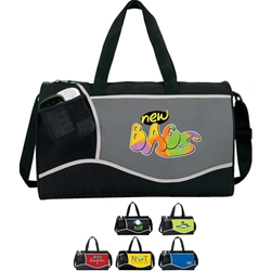 Cross Sport Duffle Cross, Sport, Deluxe, Duffle, Promotional, Imprinted, Polyester, Travel, Custom, Personalized, Bag