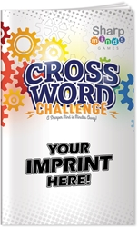 Crossword Challenge Puzzle Book crossword puzzles, crossword puzzle book, promotional games, promotional puzzles, seniors promotions