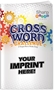 Crossword Challenge Puzzle Book crossword puzzles, crossword puzzle book, promotional games, promotional puzzles, senior's promotions