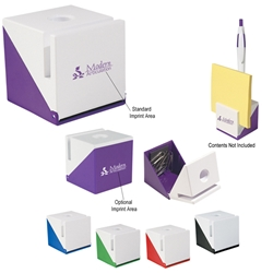 Cubic Stand Cubic Stand, Cubic, Stand, Clip, Holder, Imprinted, Personalized, Promotional, with name on it, giveaway,