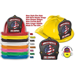 Kids Plastic Fire Hat | USA Made | Care Promotions