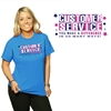 Customer Service You Make a Difference in So Many Ways T-Shirt | Care Promotions