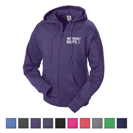 Delta® Adult Unisex French Terry Fleece Zip Hoodie | Care Promotions