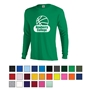 Delta® Pro Weight™ Unisex Adult Long Sleeve Tee custom printed tee shirt, custom logo tee shirt, promotional t-shirt, promotional tee shirt, custom printed t-shirt, long sleeve tee, long sleeve t-shirt, corporate apparel
