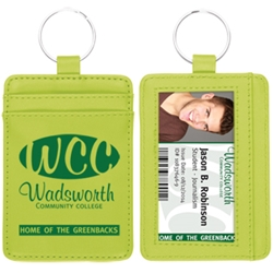 Deluxe ID Holder Wallet  Wallet Key Tag, ID Key Tag, ID Key Ring, Card Holder Key Tag, Imprinted, With Logo, Key Tag Credit Card Holder