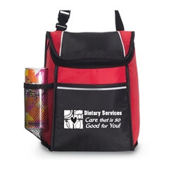 Dietary Services: Care That Is So Good For You! Link Lunch Cooler Dietary Services, lunch bag, Link, Lunch Cooler, Lunch Bag, Cooler, Water bottle pocket Lunch Bag, PVC, Promotional, Imprinted, with name on it, with logo,
