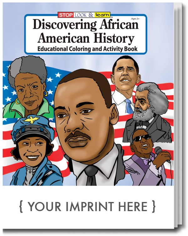 Discovering African American History Coloring Book | Care Promotions