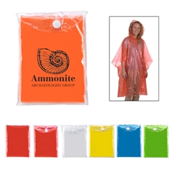Disposable Poncho Disposable Poncho, Disposable, Poncho, Colors, Choice, of, Imprinted, Personalized, Promotional, with name on it, giveaway,