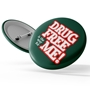 Drug Free is the Way for Me Buttons | Red Ribbon Week Giveaways | Care Promotions