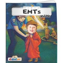 EMTs and Me All About Me EMTs and Me All About Me, BetterLifeLine, BetterLife, Education, Educational, information, Informational, Wellness, Guide, Brochure, Paper, Low-cost, Low-Price, Cheap, Instruction, Instructional, Booklet, Small, Reference, Interactive, Learn, Learning, Read, Reading, Health, Well-Being, Living, Awareness, AllAboutMe, AdventureBook, Adventure, Book, Picture, Personalized, Keepsake, Storybook, Story, Photo, Photograph, Kid, Child, Children, School, Imprinted, Personalized, Promotional, with name on it, giveaway,