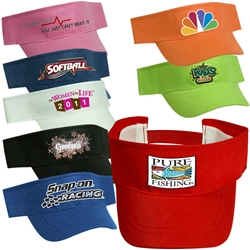 Econo Non Woven Visor Cap corporate apparel, promotional hat, promotional cap, custom printed hat, custom printed cap, awareness giveaways, marketing giveaways, promotional products, promotional visor