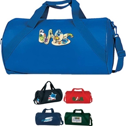 Economy Roll Duffle Economy, Roll, All-Purpose, Sport, Pack, Deluxe, Duffle, Promotional, Imprinted, Polyester, Travel, Custom, Personalized, Bag