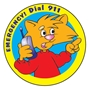 Emergency Dial 911 Sticker Roll | Care Promotions