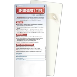 Emergency Tips for the Home Post Ups/Glancer BetterLifeLine, BetterLife, Education, Educational, information, Informational, Wellness, Guide, Brochure, Paper, Low-cost, Low-Price, Cheap, Instruction, Instructional, Booklet, Small, Reference, Interactive, Learn, Learning, Read, Reading, Health, Well-Being, Living, Awareness, PostUp, Refrigerator, Adhesive, Wall, Sticky, Post-it, Safe, Safety, Protect, Protection, Hurt, Accident, Violence, Injury, Danger, Hazard, Emergency, First Aid, Fire, Safety, Burn, Fireman, Fighter, Department, Smoke, Danger, Forest, Station, Protect, Protection, Emergency, Firefighter, First Aid, Positive Promotions, The Positive Line, Awareness