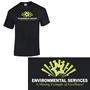 """Environmental Services: A Shining Example Of Excellence"" Gildan® Heavy Cotton™ Classic Fit Adult T-Shirt Environmental Services Theme T-Shirt, Imprinted T-Shirt, Printed Cotton T-Shirt, 5.3 Oz T-shirt with logo, Heavy Cotton T-Shirt Printed,"