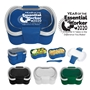Essential Worker Appreciation On-The-Go Convertible Lunch Set  Essential Worker Appreciation, Employee Recognition, Lunch Dish, Lunch Plate, Lunch Set, Lunch Box, Imprinted, Personalized, Promotional, with name on it, Gift Idea, Giveaway, novelty pen, promotional pen, fidget spinner pen