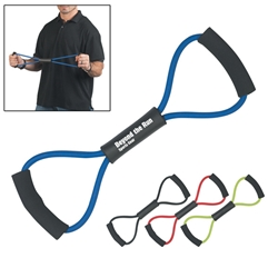 Exercise Band Exercise Band, Exercise, Band, Stretch, Pull, Imprinted, Personalized, Promotional, with name on it, giveaway,
