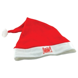 Custom Printed Felt Santa Hat | Care Promotions