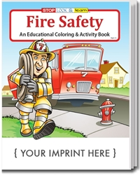 Fire Safety Coloring & Activity Book | Care Promotions