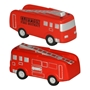 Fire Truck Stress Reliever fire safety promotional items, fire department giveaways, promotional stress relievers, fire truck stress reliever, fire prevention week, fire safety education, promote fire safety, fire engine stress reliever
