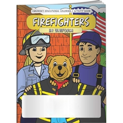 Firefighters in Uniform Coloring Book Firefighters in Uniform Coloring Book, BetterLifeLine, BetterLife, Education, Educational, information, Informational, Wellness, Guide, Brochure, Paper, Low-cost, Low-Price, Cheap, Instruction, Instructional, Booklet, Small, Reference, Interactive, Learn, Learning, Read, Reading, Health, Well-Being, Living, Awareness, ColoringBook, ActivityBook, Activity, Crayon, Maze, Word, Search, Scramble, Entertain, Educate, Activities, Schools, Lessons, Kid, Child, Children, Story, Storyline, Stories, Fire, Safety, Burn, Fireman, Fighter, Department, Smoke, Danger, Forest, Station, Protect, Protection, Emergency, Firefighter, First Aid, Imprinted, Personalized, Promotional, with name on it, Giveaway,