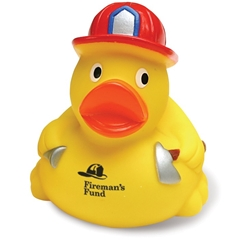 Fireman Rubber Duck | Care Promotions