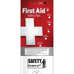First Aid: Safety Tips Pocket Slider BetterLifeLine, BetterLife, Education, Educational, information, Informational, Wellness, Guide, Brochure, Paper, Low-cost, Low-Price, Cheap, Instruction, Instructional, Booklet, Small, Reference, Interactive, Learn, Learning, Read, Reading, Health, Well-Being, Living, Awareness, PocketSlider, Slide, Chart, Dial, Bullet Point, Wheel, Pull-Down, SlideGuide, Safe, Safety, Protect, Protection, Hurt, Accident, Violence, Injury, Danger, Hazard, Emergency, First Aid, Fire, Safety, Burn, Fireman, Fighter, Department, Smoke, Danger, Forest, Station, Protect, Protection, Emergency, Firefighter, First Aid, The Positive Line, Positive Promotions