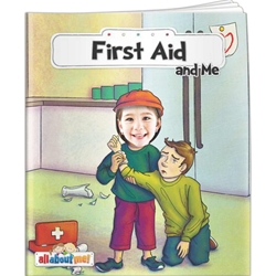 First Aid and Me All About Me First Aid and Me All About Me, BetterLifeLine, BetterLife, Education, Educational, information, Informational, Wellness, Guide, Brochure, Paper, Low-cost, Low-Price, Cheap, Instruction, Instructional, Booklet, Small, Reference, Interactive, Learn, Learning, Read, Reading, Health, Well-Being, Living, Awareness, AllAboutMe, AdventureBook, Adventure, Book, Picture, Personalized, Keepsake, Storybook, Story, Photo, Photograph, Kid, Child, Children, School,Imprinted, Personalized, Promotional, with name on it, giveaway,