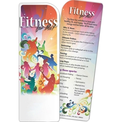Fitness for Me! Bookmark Fitness for Me! Bookmark, BetterLifeLine, BetterLife, Education, Educational, information, Informational, Wellness, Guide, Brochure, Paper, Low-cost, Low-Price, Cheap, Instruction, Instructional, Booklet, Small, Reference, Interactive, Learn, Learning, Read, Reading, Health, Well-Being, Living, Awareness, Book, Mark, Tab, Marker, Bookmarker, Page holder, Placeholder, Place, Holder, Card, 2-side, 2-sided, Page, Exercise, Fitness, Nutrition, Sports, Workout, Gym, YMCA, Imprinted, Personalized, Promotional, with name on it, Giveaway,