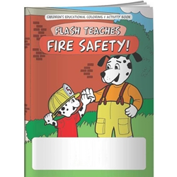 Flash Teaches Fire Safety! Coloring Book Flash Teaches Fire Safety! Coloring Book, BetterLifeLine, BetterLife, Education, Educational, information, Informational, Wellness, Guide, Brochure, Paper, Low-cost, Low-Price, Cheap, Instruction, Instructional, Booklet, Small, Reference, Interactive, Learn, Learning, Read, Reading, Health, Well-Being, Living, Awareness, ColoringBook, ActivityBook, Activity, Crayon, Maze, Word, Search, Scramble, Entertain, Educate, Activities, Schools, Lessons, Kid, Child, Children, Story, Storyline, Stories, Fire, Safety, Burn, Fireman, Fighter, Department, Smoke, Danger, Forest, Station, Protect, Protection, Emergency, Firefighter, First Aid, Imprinted, Personalized, Promotional, with name on it, Giveaway,