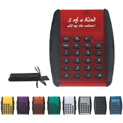 Flip Calculator Flip Calculator, Flip, Calculator, Imprinted, Personalized, Promotional, with name on it, giveaway,