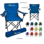 Folding Chair with Carrying Bag Folding Chair, Carry All Chair, Outdoor Portable Chair, Stadium Chair, Stadium Seat, Imprinted, Personalized, Promotional, with name on it, Giveaway, Gift Idea