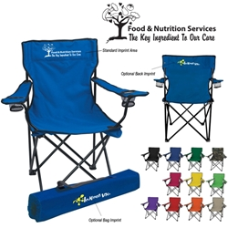 Food & Nutrition Services: The Key Ingredient To Our Care Folding Chair With Carrying Bag  Food Services, Nutrition Services Theme, Folding Chair, Carry All Chair, Outdoor Portable Chair, Stadium Chair, Stadium Seat, Imprinted, Personalized, Promotional, with name on it, Giveaway, Gift Idea
