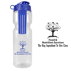 Food & Nutrition Services: The Key Ingredient To Our Care Infuser Water Bottle Food Services, Nutrition Services, PETE, housekeeping theme waterbottle, 28 oz infuser water bottle., Infuser, Infusion, Plastic, Sports, Bottle, Water Bottle, Water, Sports, Walk Events, Running event,  Imprinted, Personalized, Promotional, with name on it, Gift Idea, Giveaway,