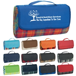 Food & Nutrition Services: The Key Ingredient To Our Care Roll Up Picnic Blanket Picnic Blanket, Roll Up Blanket, Outdoor Blanket, Roll Up Picnic Blanket, Imprinted, Personalized, Promotional, with name on it, Giveaway, Gift Idea