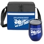 """Food & Nutrition Services. When It Comes To Health & Happiness...We Got This!"" Goblet & Cooler Care Bundle  Food Service Theme, Food & Nutrition Services, Lunch Bag Combo, Appreciation Gift Combo, Cooler and Bottle Combo, Care Bundle, Break Pack, Housekeeping Gift Set, Theme, promotional products, scooler set, Lunch bag, Imprinted"