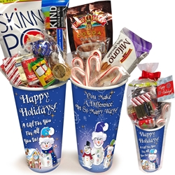 Happy Holidays Employee Recognition & Appreciation Treat Set Employee Holiday Appreciation Set, Holiday Recognition Set, Appreciation Treat Set, Employee Snack Set, Appreciation Snack Pack, Recognition Teat Pack, Cup of Appreciation,